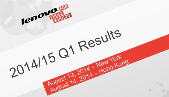Lenovo Sonraki 'En Büyük' Olabilir