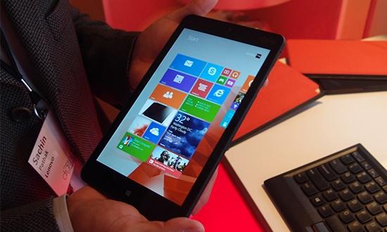 Lenovo ThinkPad Tablet 8 Türkiye'de