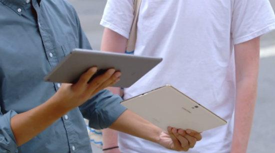 Samsung'dan iPad Karşıtı Reklam!