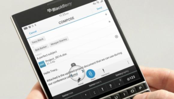 BlackBerry Passport'a 4K Desteği!