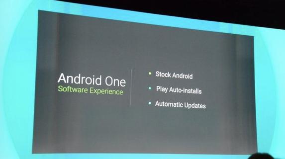 Android One'lı İlk Akıllı Geliyor!