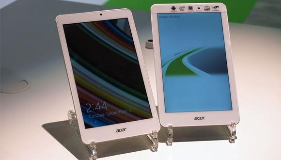 Acer Yeni Tabletlerini Duyurdu
