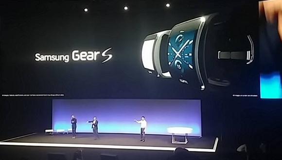 Samsung Galaxy Gear S Tanıtıldı