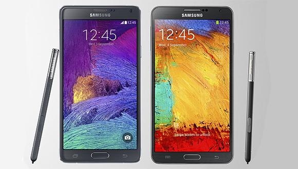 Galaxy Note 3, Note 4 ve Note Edge'in Arayüzleri Karşı Karşıya