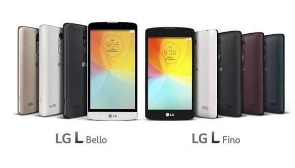LG L Bello ve L Fino Görücüye Çıktı