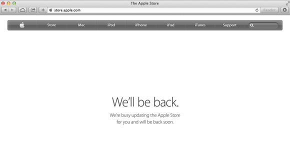 Apple Store Erişime Kapandı!