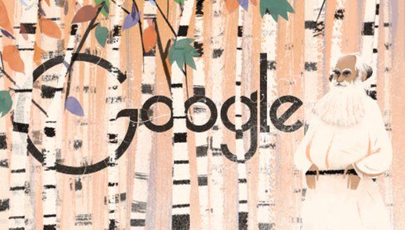 Lev Tolstoy Google'a Misafir Oldu