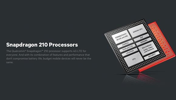 Snapdragon 210 Tanıtıldı