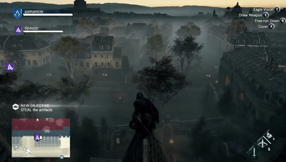 Assassin Creed: Unity'den Yeni Video
