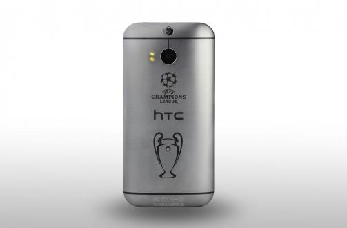 HTC'den Şampiyonlar Ligi Logolu One M8
