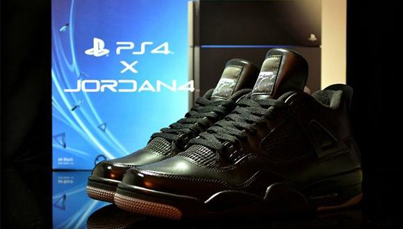 PS4'e Özel Nike Ayakkabı Üretildi