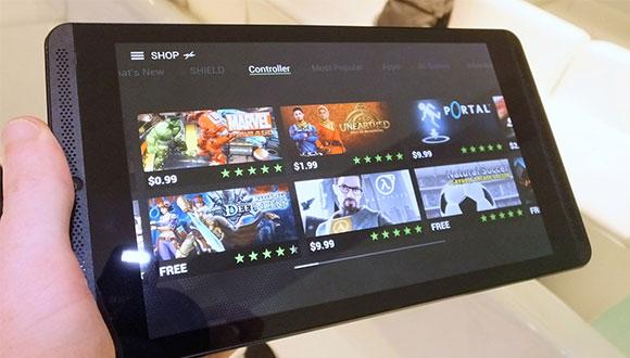 Nvidia Shield Tablet'in Renkleri Soldu