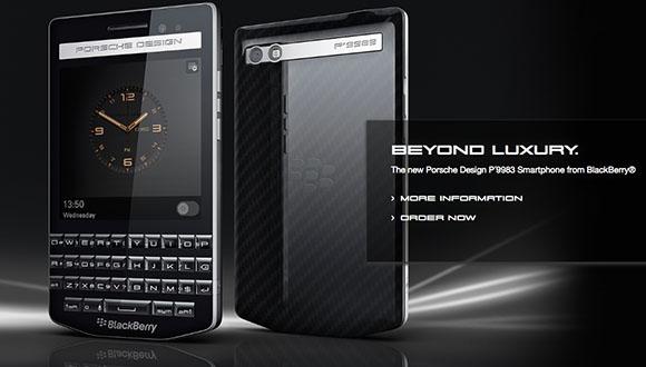 BlackBerry Porsche Design Tanıtıldı