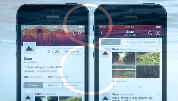 Twitter'a iOS 8 Güncellemesi