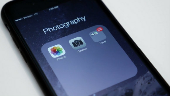 iOS 8'de İç İçe Klasörler Oluşturun