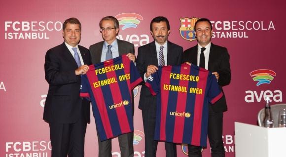 Barcelona'nın Okulu FCBEscola, Avea ile Türkiye'de