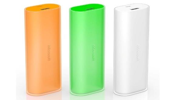 Microsoft'tan 6000 mAh'lik Taşınabilir Batarya!