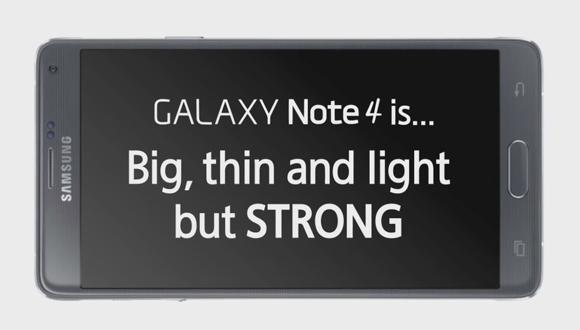 Galaxy Note 4 Bükülme Testinde!