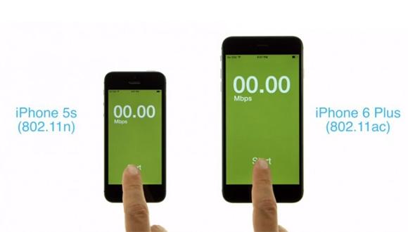 iPhone 5S ve iPhone 6 Plus Wi-Fİ Hız Testi