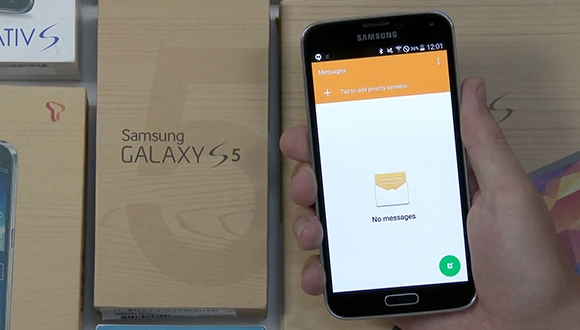 Android L Galaxy S5'e Yüklendi