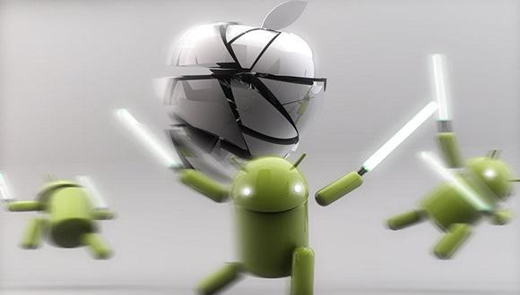 Android, iOS'un Önüne Geçmeyi Başardı