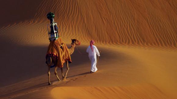 Arap Çölleri Google Street View'de