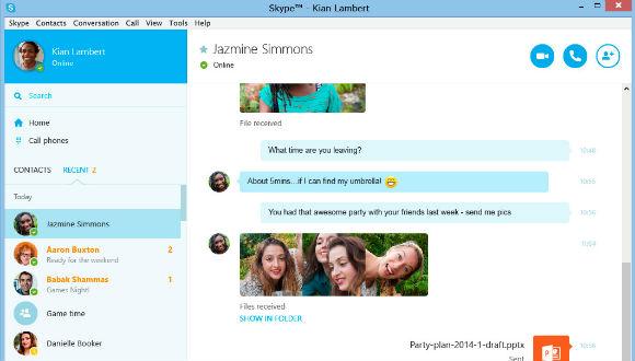 Skype Önizlemesi Yayınlandı