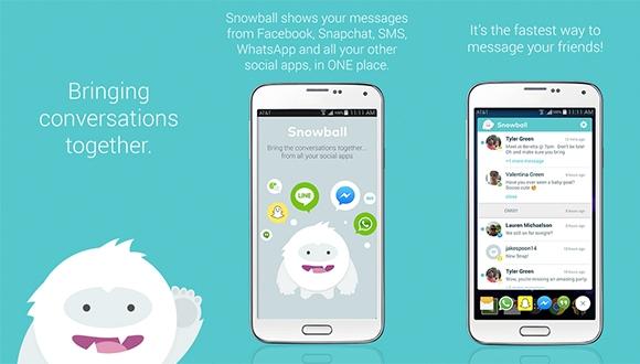 Snowball ile Anlık Tüm Mesajlar Tek Yerde