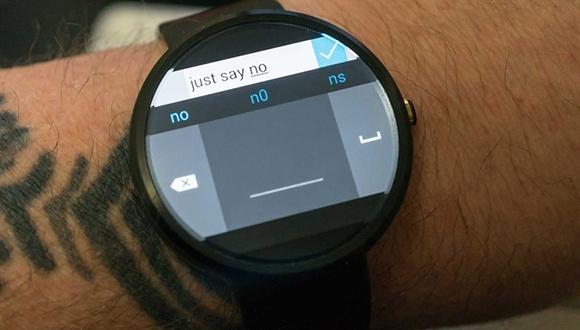 Microsoft'tan Android Wear Klavyesi