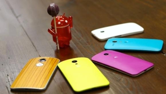 Motorola'nın Lollipop Alacak Cihazları Belli Oldu