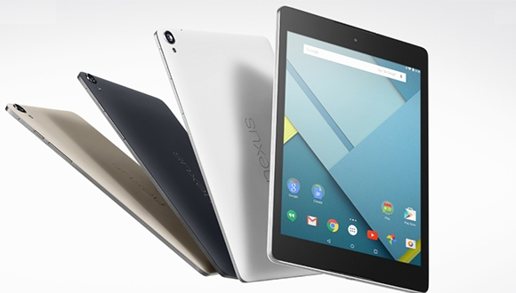 Nexus 9'un Fiyatı Belli Oldu