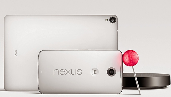 Google, Nexus 6 ve Nexus 9'u Duyurdu
