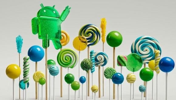 Android Lollipop'un Duvar Kağıtları