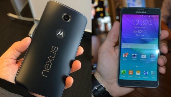 Nexus 6 ile Note 4'ü Karşılaştırdık