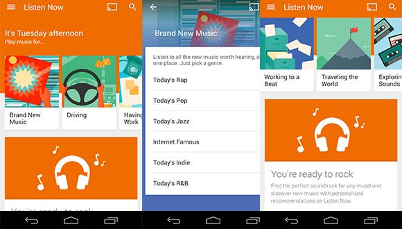 Google Play Music Yenilendi!