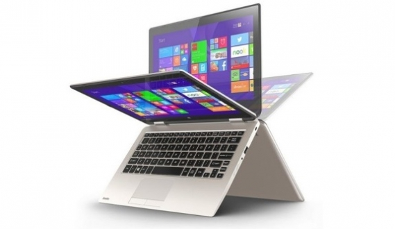 Toshiba'nın Yeni 'Çevrilebilir' Notebook'u