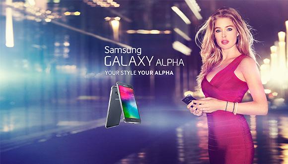 Galaxy Alpha'ya Mankenli Tanıtım!