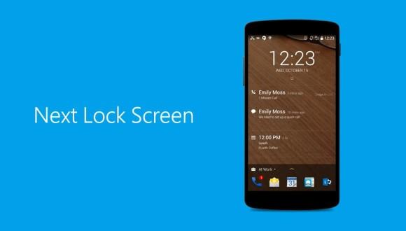 Microsoft'tan Android İçin Kilit Ekranı