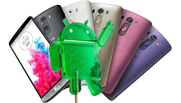 LG G3'e Android 5.1 Gelmeyebilir!