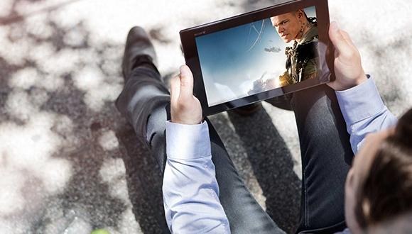 Sony Dev Ekranlı Tablet Üretebilir