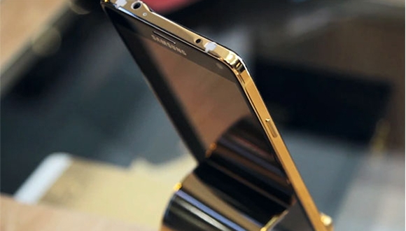 İşte Altın Kaplama Galaxy Note 4