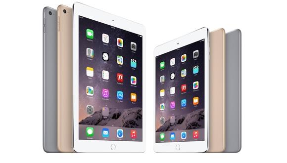 iPad Air 2 ve iPad Mini 3 Türkiye'de