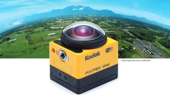 Kodak'tan 360 Derece Video Çekebilen Kamera