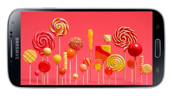 Galaxy S4'e Lollipop Geliyor!