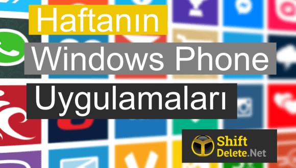 Haftanın Windows Phone Uygulamaları – 8