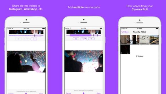 Ağır Çekim Videoları Sosyal Medyada Paylaşın