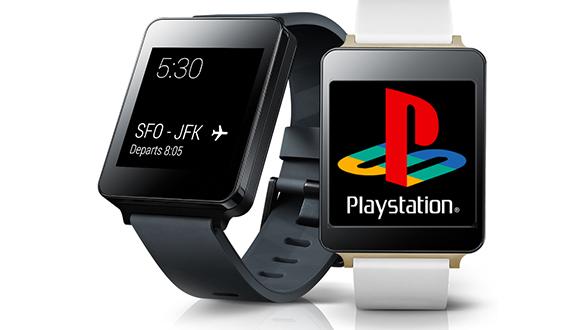PS1 Oyunları LG G Watch'ta!