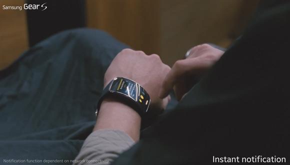 Samsung Gear S'e Özel Reklam