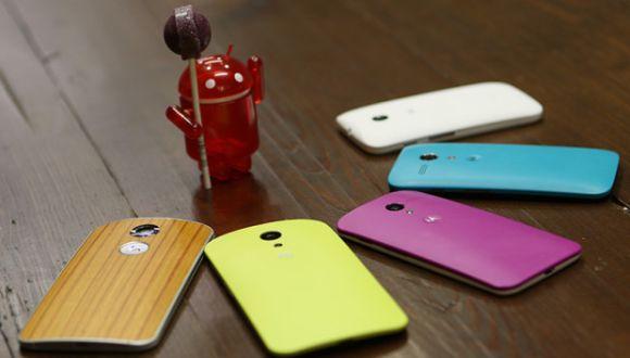 Moto G'ye Android 5.0 Lollipop Geldi