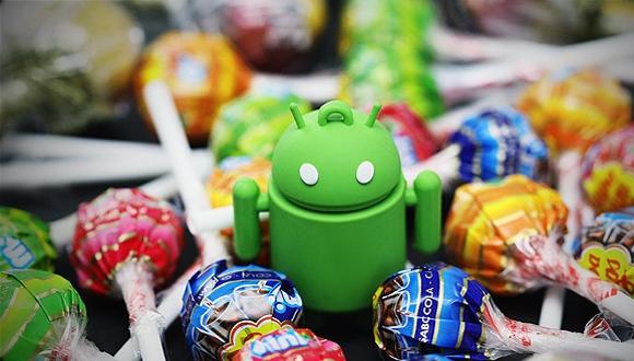 Android Lollipop 5.1 Göründü!